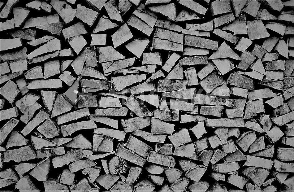 kaminholz schwarz wei foto fotografie als poster und kunstdruck von assy bestellen. Black Bedroom Furniture Sets. Home Design Ideas