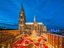 Christmas market in Cologne by Michael Abid