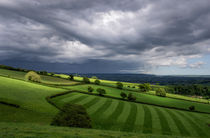 Light on Mid Devon Hills by Pete Hemington