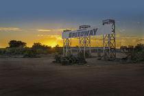 Broken Hill Speedway by Stuart Row