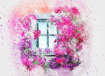 Floral Window by past-presence-art