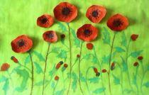 Poppy field von nellyart