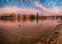 River Vltava, Prague, Czech Republic von Tomas Gregor