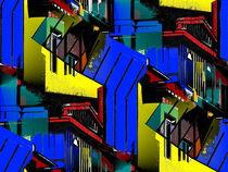 'Postmoderne Architektur - Wilhelmshaven' von Detlev Kluin