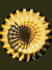Mandala - Sonnenblume 2 von Chris Berger