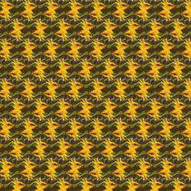 Sonnenblumenmuster - abstrakt von Chris Berger