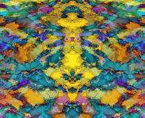 Interlocking ghosts yellow von Keith Mills