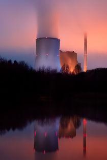 Kraftwerk Bexbach II von Bettina Dittmann