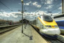 Marseilles Eurostar  by Rob Hawkins
