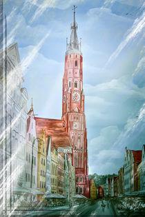 Altstadt Landshut Zyklus I von Ingo Mai