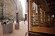 Downtown San Francisco trolley von Jim Corwin