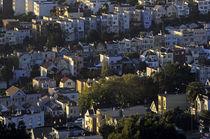 San Francisco Neighborhood Sunrise von Jim Corwin