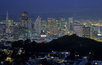 San Francisco Twilight by Jim Corwin