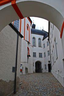 Münchner Jakobsweg: Innenhof Kloster Andechs... by loewenherz-artwork
