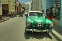 Green Studebaker  by Rob Hawkins