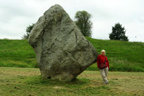 One Stone of the Avebury Stonecircle von Sabine Radtke