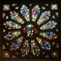Rosettenfenster der Kapelle auf St. Michaels Mount von Sabine Radtke