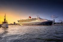 Schaarhörn & Queen Mary 2 von photoart-hartmann