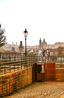 Romance in Prague, Czech Republic by Tomas Gregor