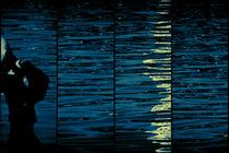 Joggen am abstrakten Wasser  von Bastian  Kienitz