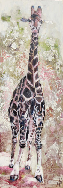 Giraffe im Krügerpark von Renée König