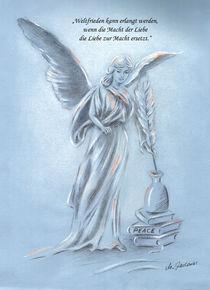 Engel des Friedens - Angel of peace von Marita Zacharias