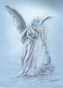 Friedensengel - Engelkunst von Marita Zacharias