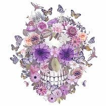 Flower Skull by ancello