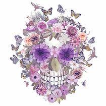 Flower Skull von ancello
