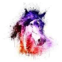 Watercolor Horse von ancello