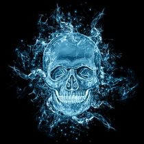 glowing Skull von ancello