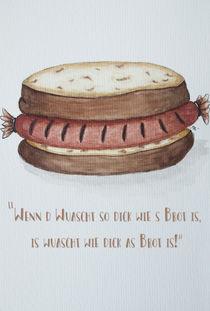 Wurst zu Brot Gleichung von danielaschlechmair