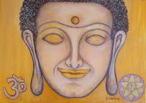 Buddha - Nabel Chakra (Manipura-Chakra) von Marija Di Matteo