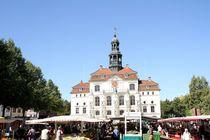 Wochenmarkt vor dem Lüneburger Rathaus; 31.08.2017 by Anja  Bagunk