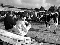 Young shepherds by Gaspar Avila