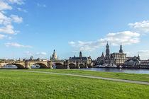 Canaletto Blick auf Dresden  von Christoph  Ebeling