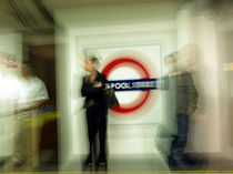 Liverpool Street - London Tube Station by Ruth Klapproth