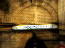 Paddington - London Tube Station  by Ruth Klapproth