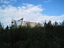Neubau , der Dachstuhl ist fertig by assy