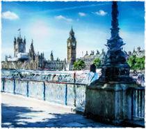 London Art Stranger by Ed The Frog