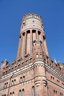 Ganz nah: Der Lüneburger Wasserturm; 16.11.2017 von Anja  Bagunk