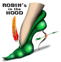 Robin's In The Hood by anarkissed