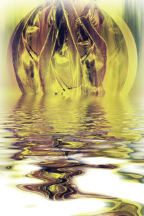 Dream trip -  Wellness in gold water von Chris Berger