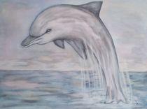 Krafttier Delfin von Marija Di Matteo