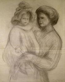 A. Renoir, Coco mit seinem Kindermädchen von AKG  Images