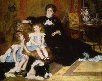 A.Renoir, Madame Georges Charpentier und ihre Kinder von AKG  Images