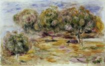 A. Renoir, Garten von Les Collettes by AKG  Images