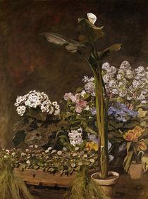 A. Renoir, Aronstab und Gewächshauspflanzen by AKG  Images