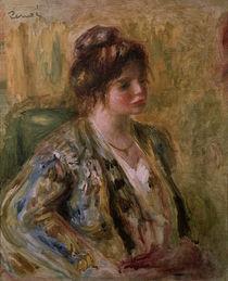 A. Renoir, Porträt eines Mädchen / Gemälde, um 1883 von AKG  Images