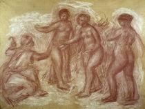 A. Renoir, Urteil des Paris / Zeichnung von AKG  Images